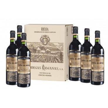 caja de 6 botellas Viña Albina Gran Reserva 2010 D.O. Rioja