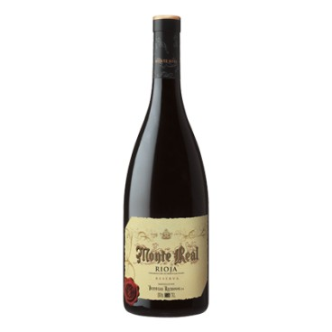 Monte Real vino reserva Magnum 1,5l caja de 6 botellas.