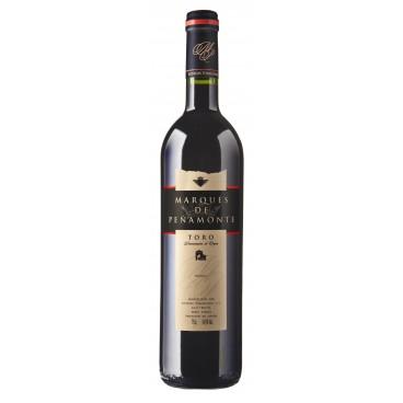 Marqués de Peñamonte vino reserva 2014 D.O. Toro, caja de 12 botella.s