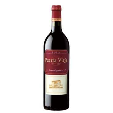 Puerta Vieja vino Crianza 2015 D.O. Rioja, caja de 6 botellas.