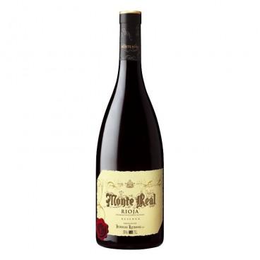 Monte Real vino reserva 2015 D.O. Rioja, caja de 6 botellas.