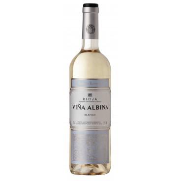 Viña Albina vino blanco cosecha caja de 12 botellas.
