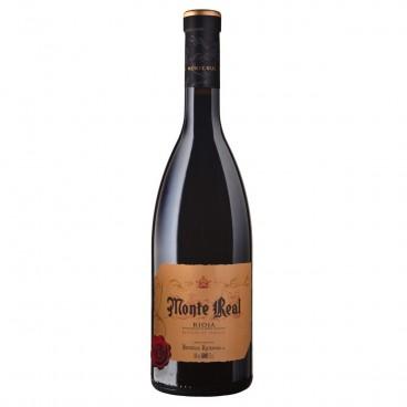Monte Real vino reserva de familia 2015 D.O. Rioja, caja de 6 botellas.