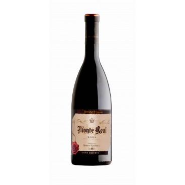 Monte Real vino gran reserva 2010 D.O. Rioja, caja de 6 botellas.