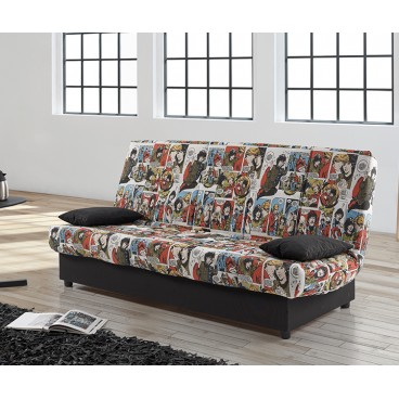 Sofá cama CLICK CLACK semi automatico comic