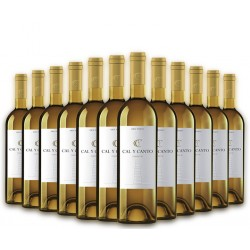 SELECTION OF 12 BOTTLES OF SPANISH WINE CAL Y CANTO O.D. WHITE TIERRA DE CASTILLA