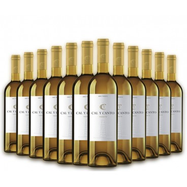SELECTION OF 12 BOTTLES OF SPANISH WINE CAL Y CANTO O.D. WHITE TIERRA DE CASTILLA