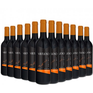 PREMIUM SELECTION OF 12 BOTTLES OF RED WINE VIRTUOSO: PINOT NOIR