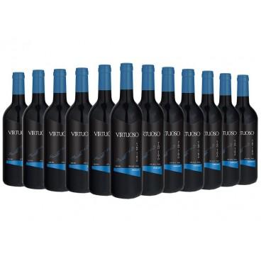12 BOTTLES OF MONOVARIETAL VIRTUOSO MERLOT WINE
