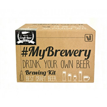MYBREWERY BEER KIT, IPA (INDIA PALE ALE).