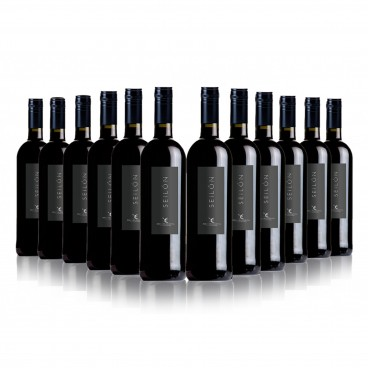 "SELECTION OF 12 BOTTLES O.D. RIBERA DEL GUADIANA ""SEILON"" RED WINE"