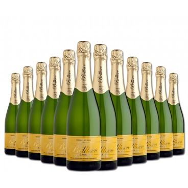 SELECTION OF 12 BOTTLES OF PREMIUM BELLISCO BRUT NATURE CAVA.