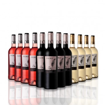 SELECTION OF 12 BOTTLES VIORE RED , WHITE, ROSE WINE OF D.O. TORO