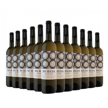 "Selection 12 bottles of ""Mureda"" ecological spanish wine."