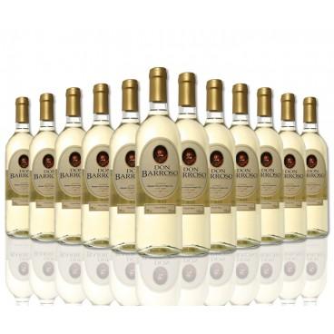 """Selection of 12 bottles """"Don Barroso"""" spanish white wine of Tierra de Castilla."""