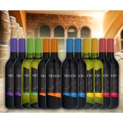 6 vinos monovarietales