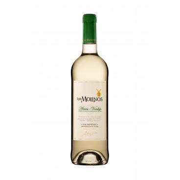 "Pack of 12 spanish Airén-Verdejo white wine ""Los Molinos"" D.O. Valdepeñas"