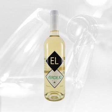 "Pack of 12 spanish Verdejo white wine ""EL VERDEJO"" Tierra de castilla"