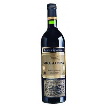 12 bottles of Spanish wine Viña Albina Gran Reserva 2010 D.O. Rioja