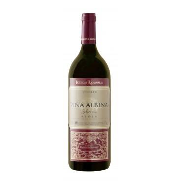 Viña Albina reserve Spanish wine, Magnum 1.5l box of 6 bottles. DO. Rioja