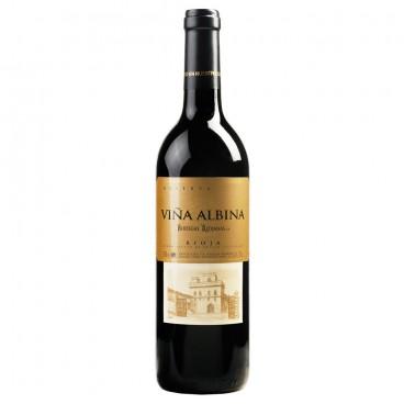 12 bottles Viña Albina reserva 2015 Spanish wine D.O. Rioja