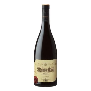 6 bottles of Spanish wine Monte Real reserve 2014 Magnum 1.5l