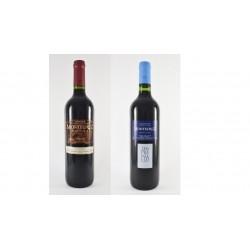 "12 bottles of spanish red Tempranillo La Mancha wine ""Montecruz"" crianza D.O. Valdepeñas"