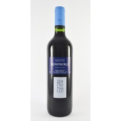 "Pack of 12 spanish red Tempranillo wine ""Montecruz"" D.O. Valdepeñas"