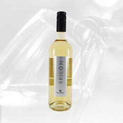 "SELECTION OF 12 BOTTLES O.D. RIBERA DEL GUADIANA ""SEILON"" WHITE WINE"