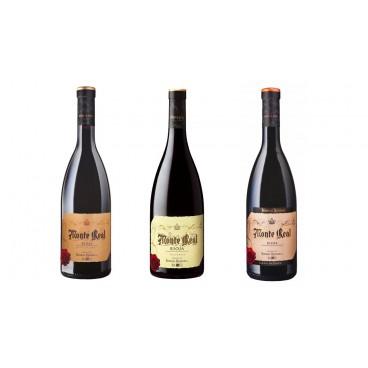6 botellas de vinos españoles Monte Real de BODEGAS RIOJANAS D.O. la Rioja