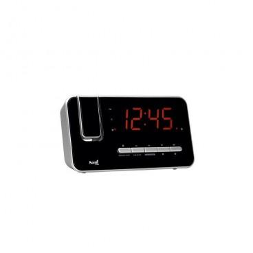Radio reloj despertador proyector