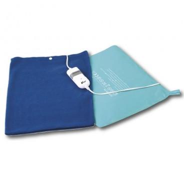 Almohadilla térmica ideal para aliviar dolores musculares y reumáticos, 40×32 cm. 60W
