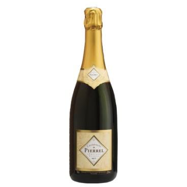 Champagne Pierrel Tradition Brut Blanc de Blancs, caja de 6 botellas.