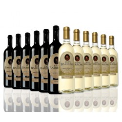 """Selection of 12 bottles """"Don Barroso"""" spanish wine of Tierra de Castilla. 6 red and 6 white."""