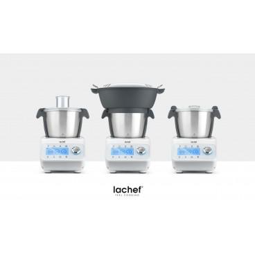Robot de cocina LaChef Multifunción Capacidad 2.2L, 23 Funciones, Recetario