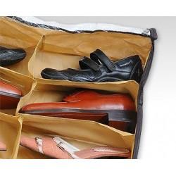 Organizador de Zapatos Zapatero Bajo la Cama para 12 Pares