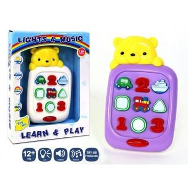 Tablet Infantil para Bebes y niños con Luces y Sonidos