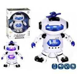 Robot Interactivo Canta y Baila Juguete Infantil con luz led Regalo de navidad