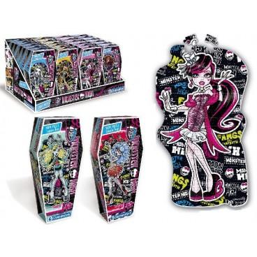 4 Puzzle de Monster High cada uno con 150pzs Niños Mayores de 4 años